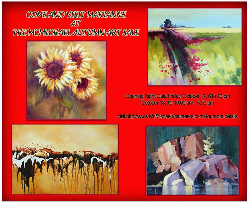 McMicael Autumn Art Sale