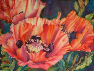 Silk Poppies
