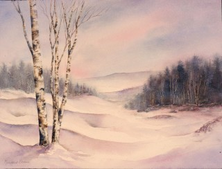 Winter Birches II