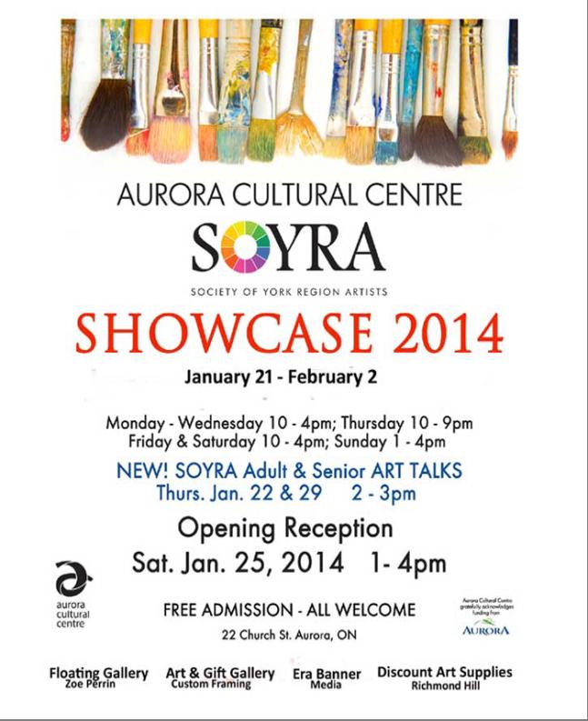 Soyra Showcase 2014