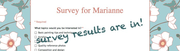 survey results are in