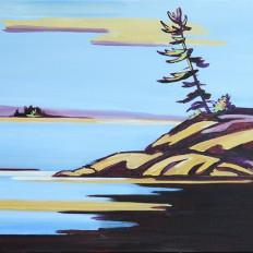 Pine On The Rocks II